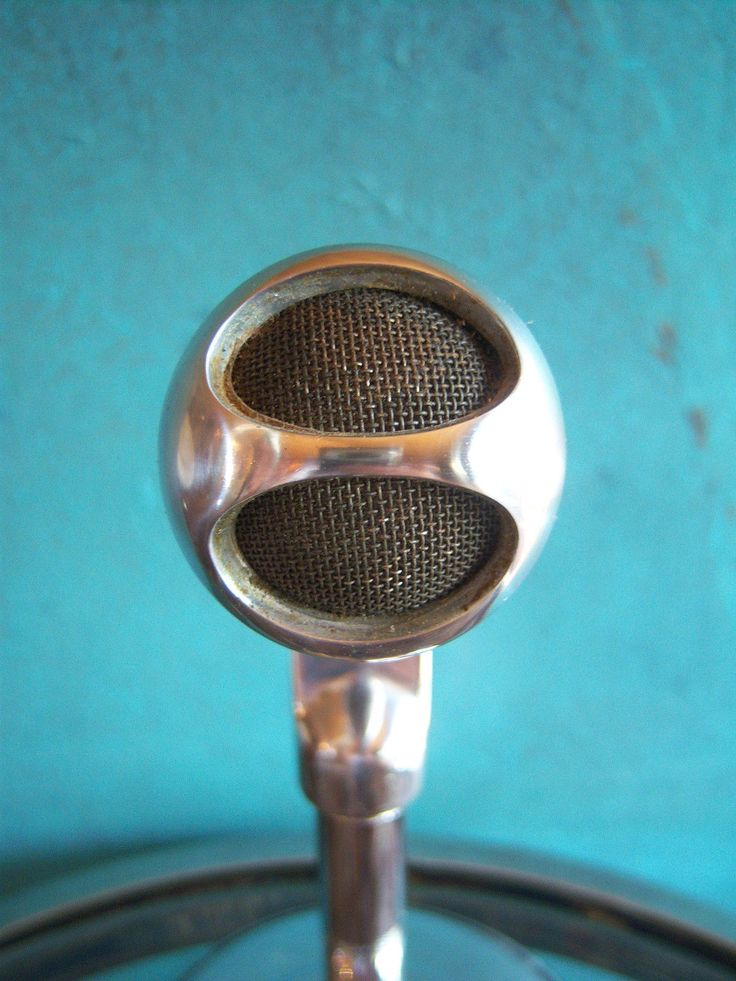 1000 images about early 20th century sound tech vintage 1950s electro voice 638 dynamic high z harp microphone old midcentury 5