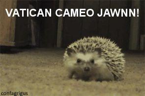 Vatican cameos, Jawn!