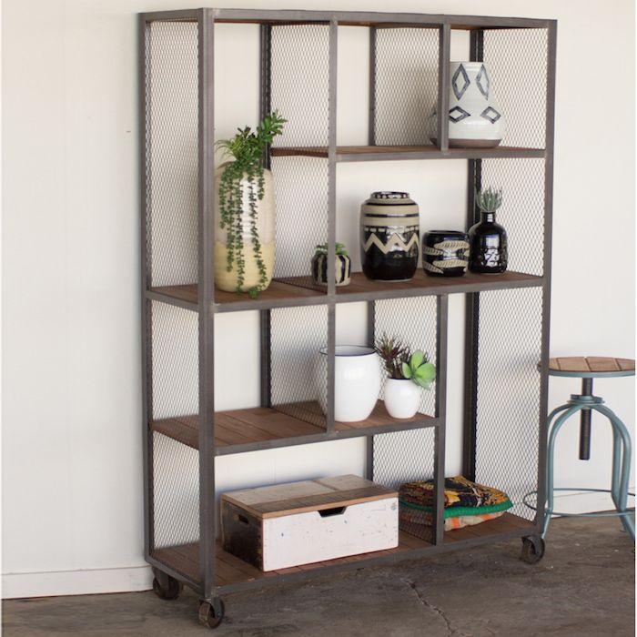 tag re en fer forg pour une d co pleine de caract re d coration d 39 int rieur pinterest. Black Bedroom Furniture Sets. Home Design Ideas