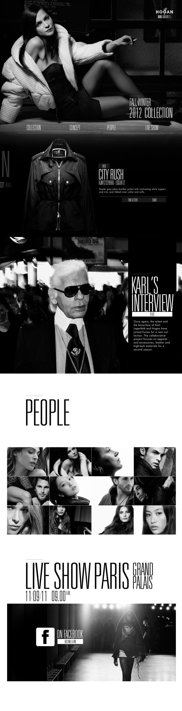 HOGAN BY KARL LAGERFELD by Thomas Ciszewski, via Behance