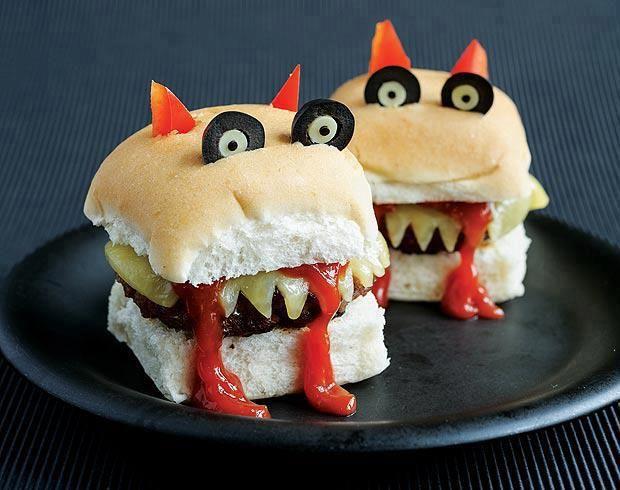 Des sandwichs amusants pour enfants