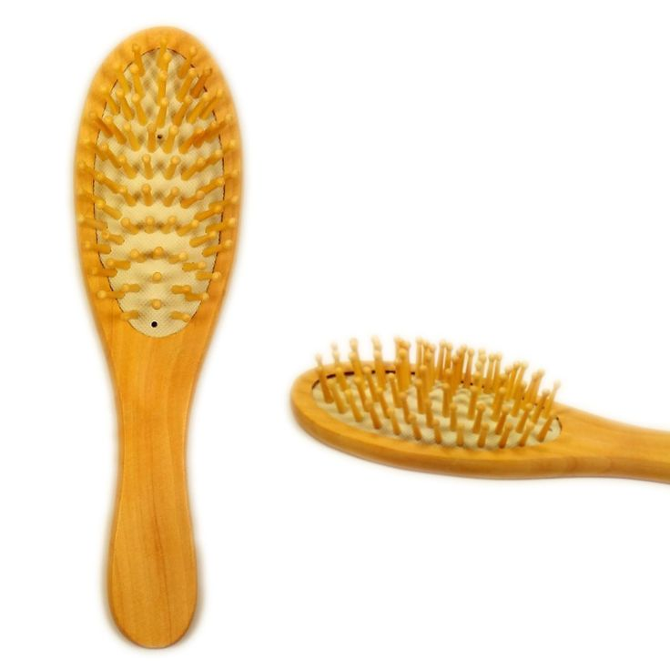 Massage Comb Wooden Bamboo Hair Vent Brush Brushes Hair Care and Beauty SPA Massager Comb