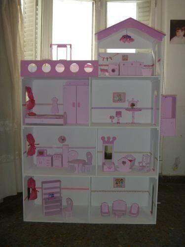 Casa de mu ecas barbie buscar con google casita barbie pinterest barbie google and search - Casa de munecas you and me ...