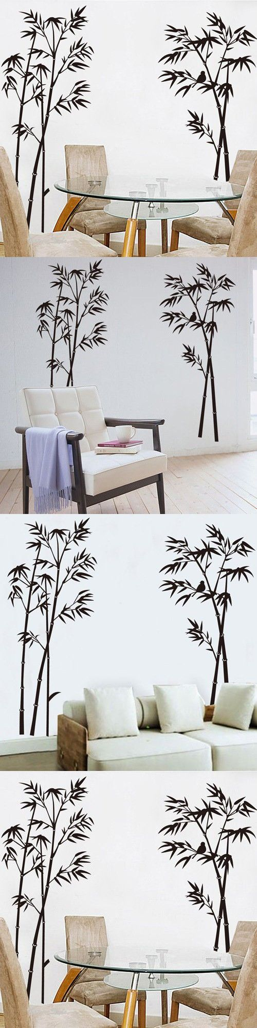 best 25 bamboo trees for sale ideas on pinterest pavers for orderin christmas gift wall decal hot sale ink and wash painting black bamboo tree birds removable