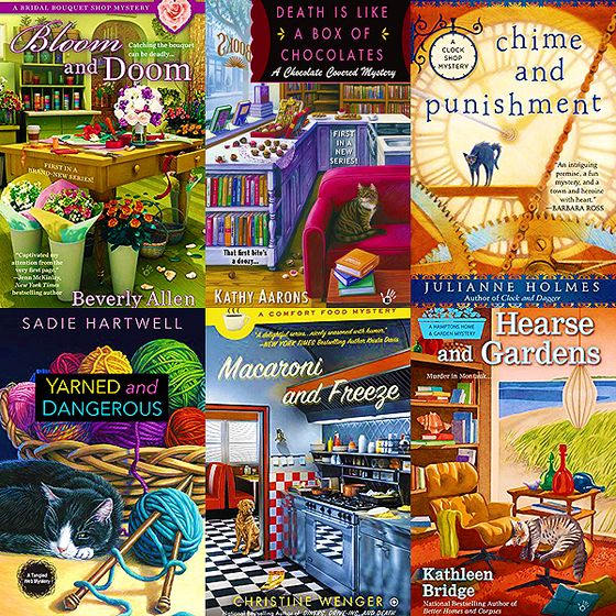 A look into some of the many great reasons I love the cozy mystery genre.