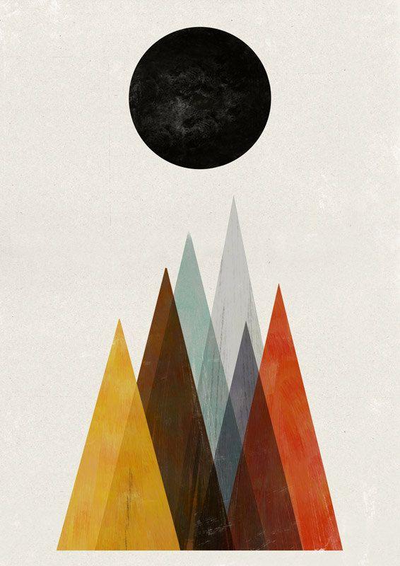 Eclipse print by blancucha on Etsy