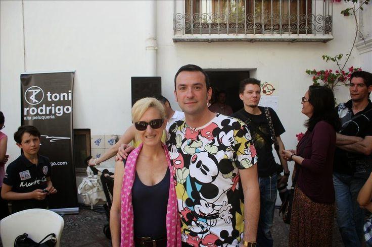 ARTICLE on TOCADOS del ALA - Spain  http://tocadosdelalabyfausfernandez.blogspot.fr/2015/05/pasarela-de-las-artes-2.html?spref=fb