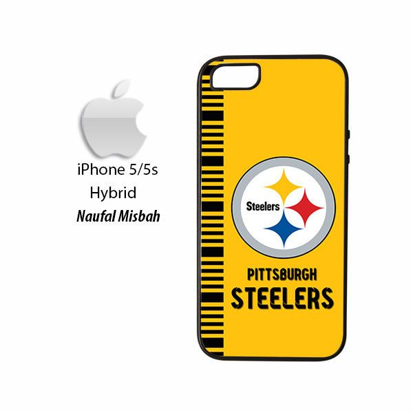 Pittsburgh Steelers Inspired iPhone 5/5s HYBRID Case Cover