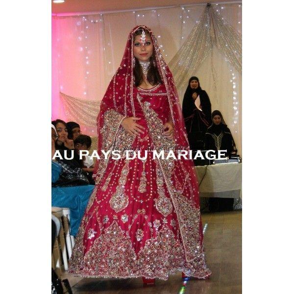 17 meilleures id es propos de mari e indienne sur for Robes de mariage indien en ligne