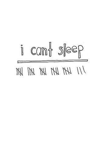 Kan je niet slapen?? Xx