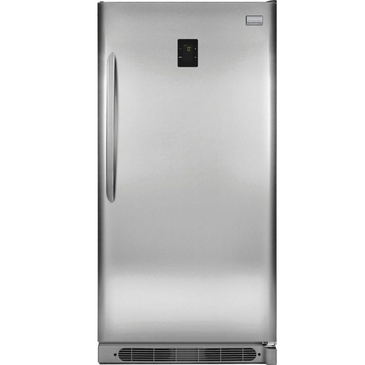 Frigidaire Gallery 20.5 cu. ft. Frost Free Upright Freezer Convertible to Refrigerator in Stainless Steel, Energy Star, Smudgeproof Stainless Steel