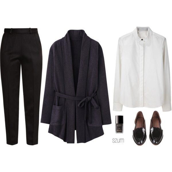 211 by szum on Polyvore featuring Uniqlo, Proenza Schouler, Raoul, Rachel Comey and Chanel