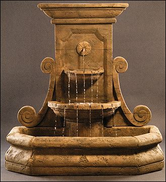 Outdoor Wall Water Fountains 65 best outdoor fountains images on pinterest | outdoor fountains