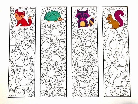 Animals Coloring Book Pdf Fresh Cute Animal Bookmarks Pdf Zentangle Coloring Page In 2020 Coloring Bookmarks Animal Coloring Pages Printable Coloring Pages