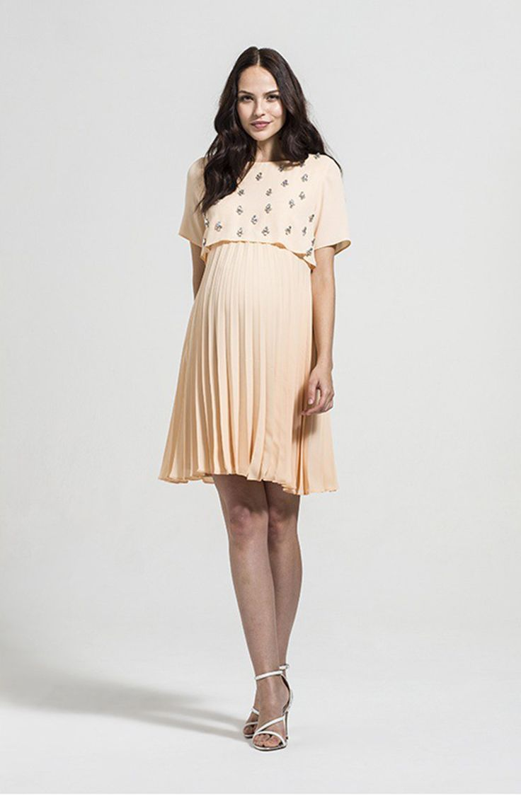 Stardust Maternity Wedding Guest Dress