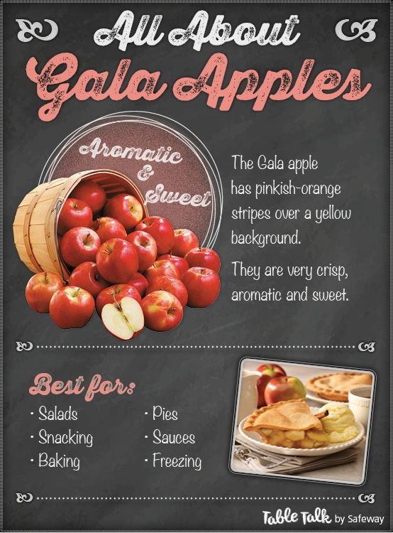 All About Gala Apples! #AppleMonth