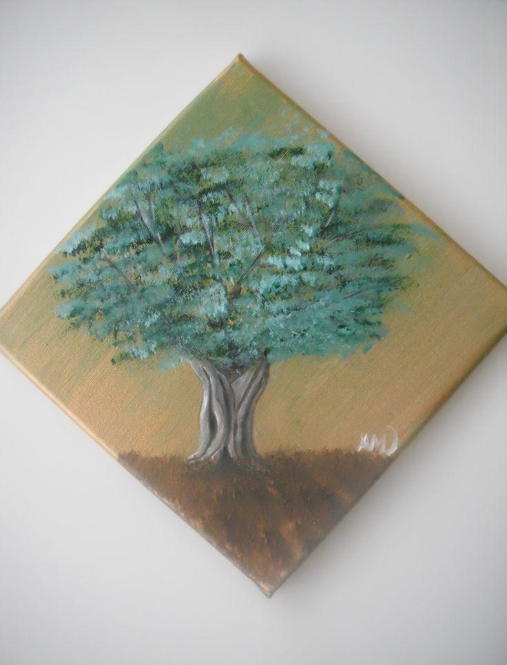 Olive tree. Paintings on camvas by Art Online