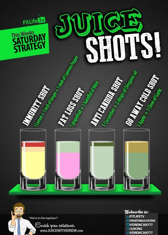 Saturday Strategy – Juice Shots