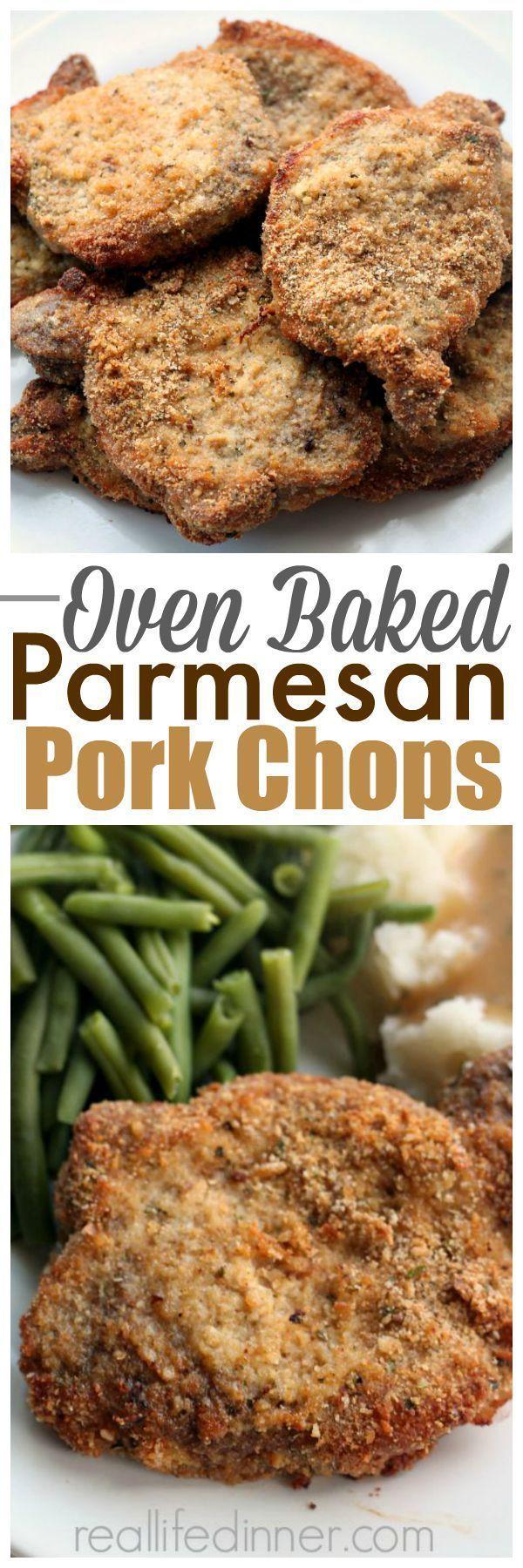 An easy dinner the family always raves about....Best Pork Chops Recipe ~ http://reallifedinner.com