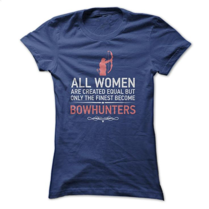 Bowhunters T-shirt T Shirts, Hoodies, Sweatshirts - #women hoodies #polo sweatshirt. BUY NOW => https://www.sunfrog.com/Hunting/Limited-Edition--Bowhunters-T-shirt-Ladies.html?60505
