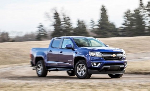 2016 Chevrolet Colorado Crew Cab 44 Diesel Tested: A Littler Truck for the Money