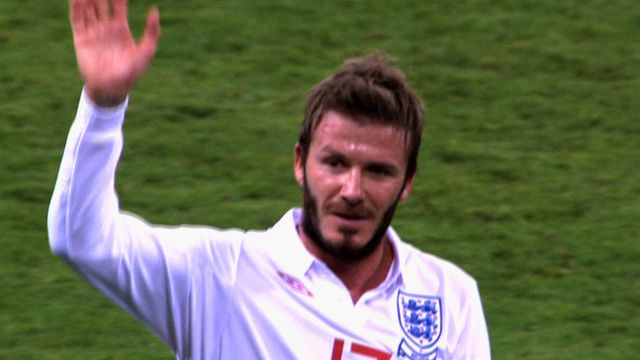 Probably the right decision to leave him out, but tough on Becks.