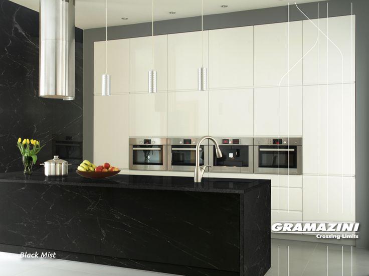 Gramazini now offers the Black Mist!  A bold granite with the soap stone look, perfect for any environment  #blackmist #virginiamist #gramazini # usenaturalstone