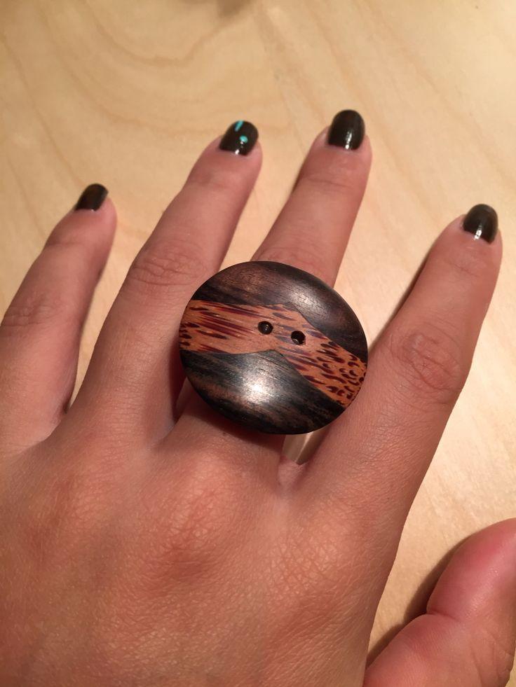 #anello #mani #ring #prezioseidee #wood #legno #arte #artigianato