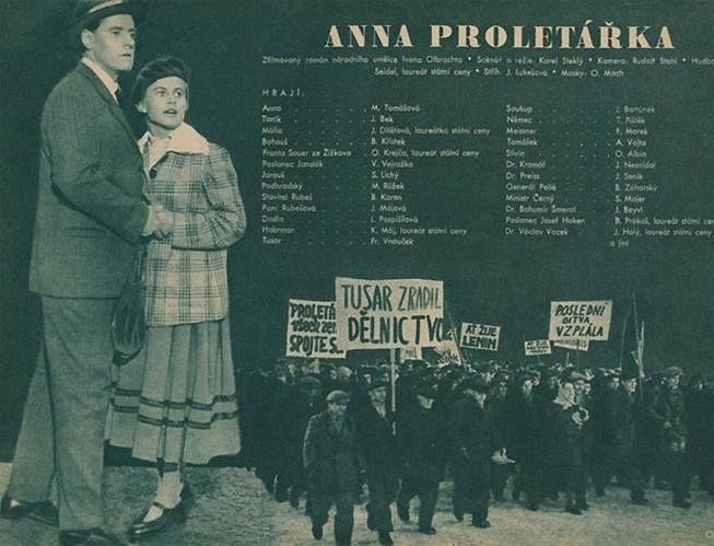 Plakát Anna proletářka