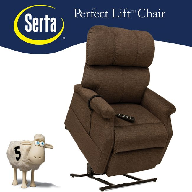 The Pride Serta 525 Infinite Position Lift Chair Has 2 Great Pictures