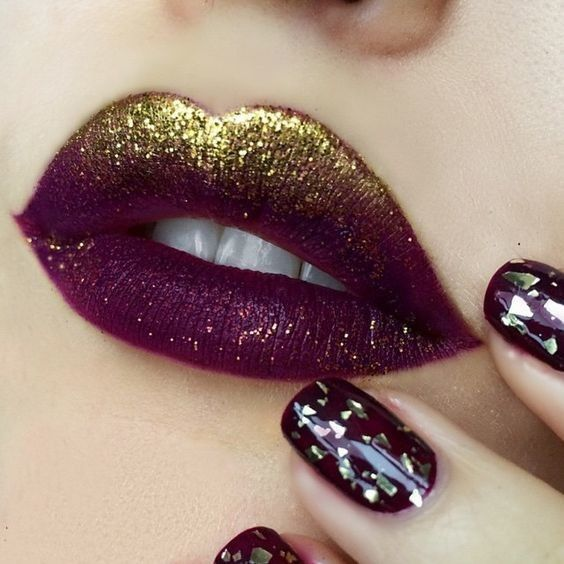Lustrous Lips - Unleash Your Inner Glamazon With Glitter Lips - Photos