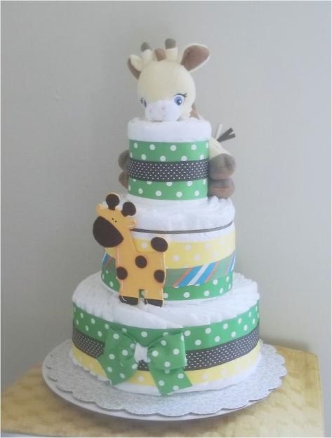 Affordable and Unique Baby Gifts: Diaper and Towel Cakes - For Babies - Infants