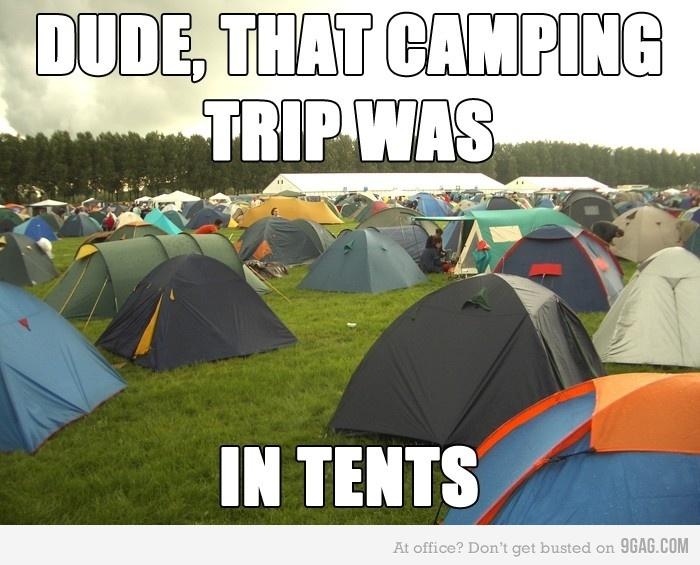 Like totally!Cheesy Jokes, Tents, Laugh, Funny Pics, Words Plays, Funny Pictures, Camps, Funny Photos, So Funny