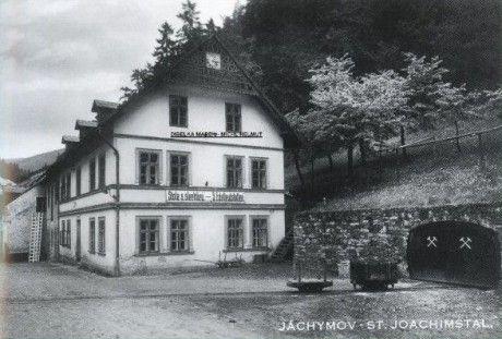 JÁCHYMOV-brána Krušných hor - Fotoalbum - Historické bohatství - Důlní činnost - Důl Bratrství