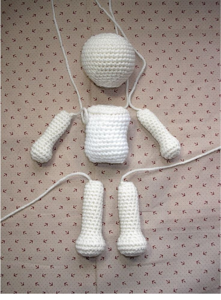 Basic Crochet Doll -- Amigurumi