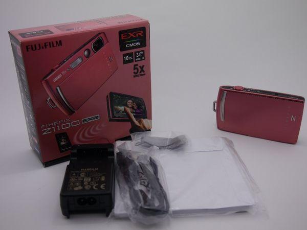 FUJIFILM Finepix Z1100 Dusty Pink Mulus Like A New!!!