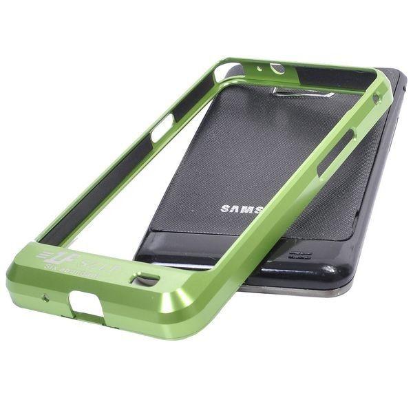 Samsung Galaxy S2 Alumiininen Suojakehys (Vihreä)