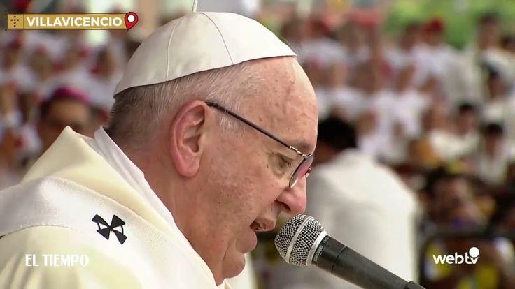 """#Terrorismo Bergoglio blasfemó contra la Sangre de Jesucristo: """"Por las venas de Jesús corre sangre pagana"""": Colombia Villavicencio.…"""