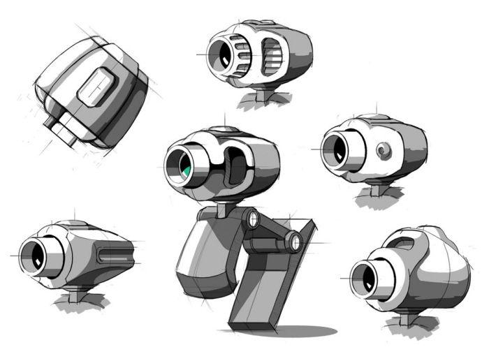 Sketches by Hyun Kim at Coroflot.com