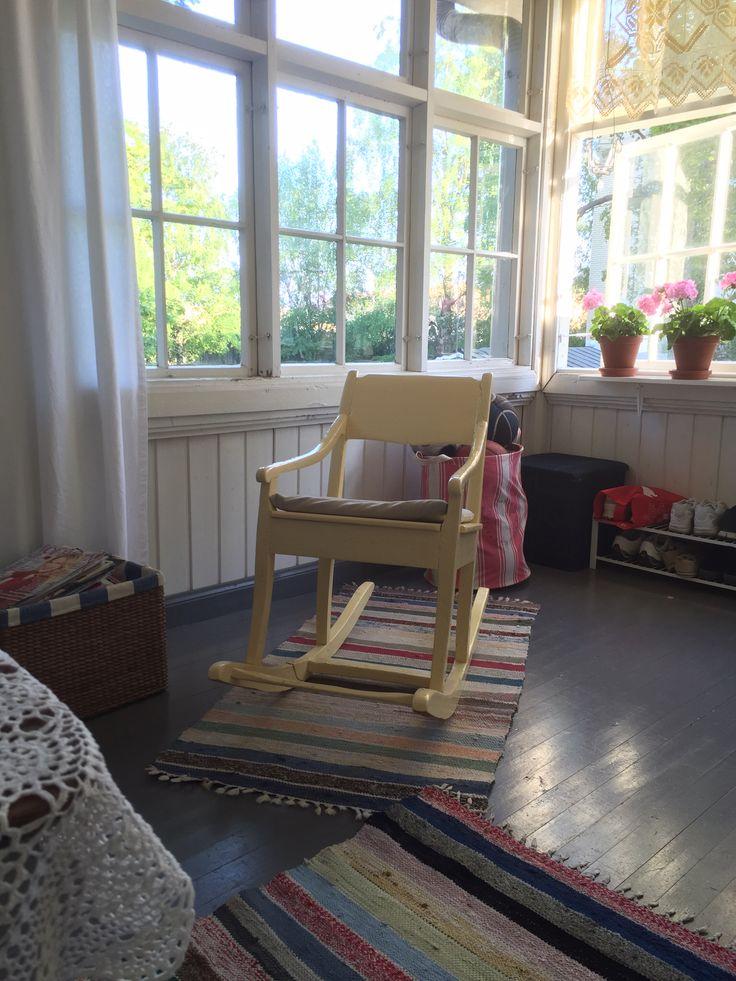 Great grandma's rocking chair