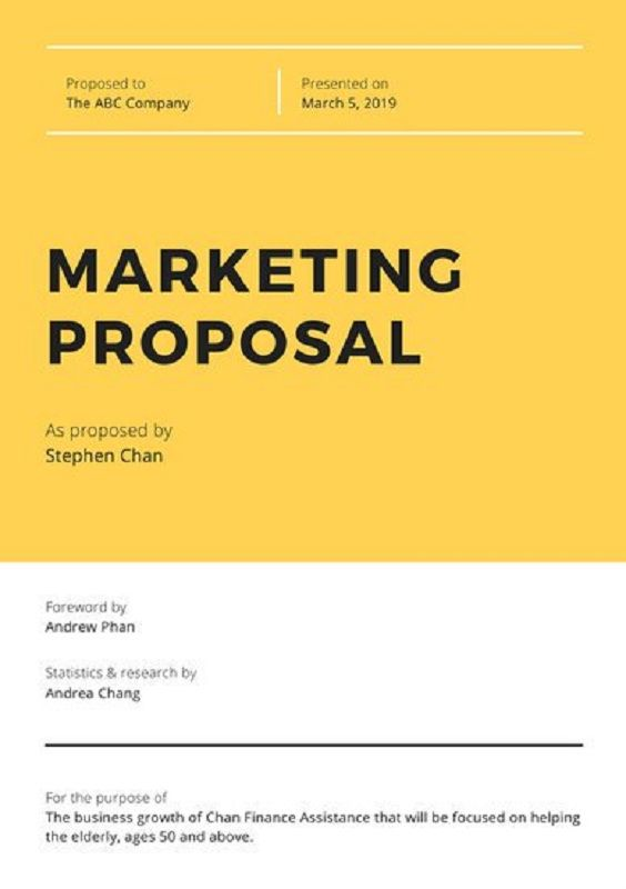 Request for Proposal (Document)
