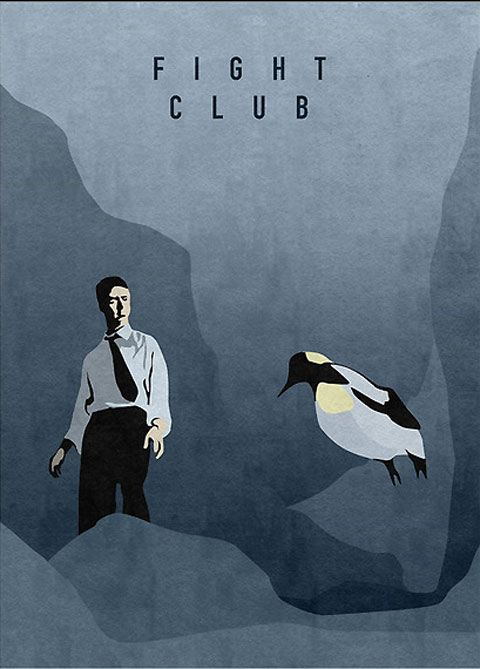 Stylized movie posters by Oliver Shilling