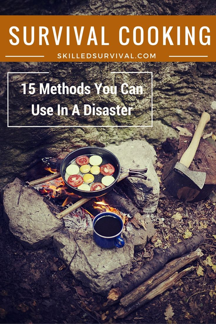 Survival cooking is a skill that can turn a dire situation into a moral boosting mealtime. That's why survival cooking is so important. When everyone else is eating expired canned goods, your family will be enjoying fresh hot meals.