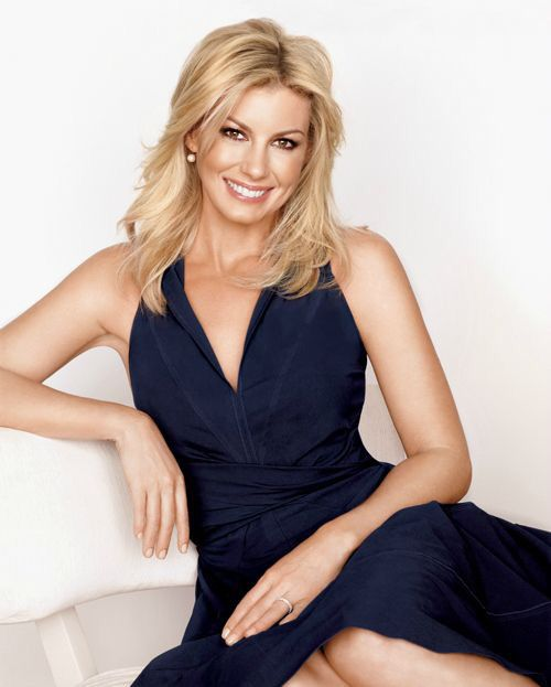 Faith Hill. Keep  the faith.