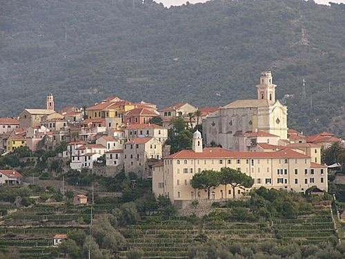 Diano Castello, Riviera Ligure, Italy. Maybe next year. It's the homeland.