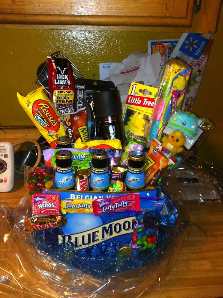 96 easter basket ideas for boyfriend easter basket for baby man easter basket i made for my boyfriend negle