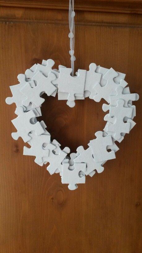 Puzzel-hart