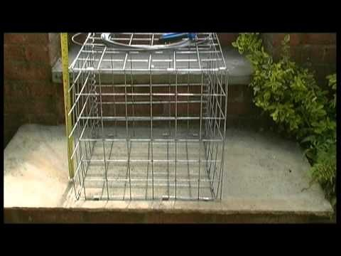 How to assemble a gabion basket I learned something new today :)