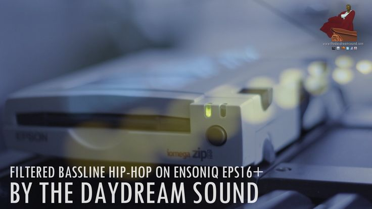 I'm staying on the Ensoniq EPS16+ this week! It's my favorite! Having fun as always, here's a Hip-Hop filtered bass line. Enjoy!   Visit: http://www.thedaydreamsound.com and pick up a copy of my albums, The Daydream Sound I, II, III & Apparel Sketches for Him & Her.  Be Social and Follow me! Facebook: http://www.facebook.com/tds.drums Instagram: http://instagram.com/thedaydreamsound/ Twitter: http://www.twitter.com/TDSAlkebulan YouTube: http://www.youtube.com/thedaydreamsound   Thanks for…