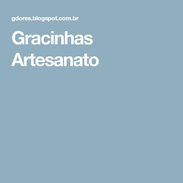 Gracinhas Artesanato